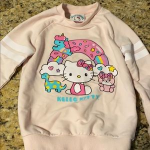 Hello kitty girls sweater